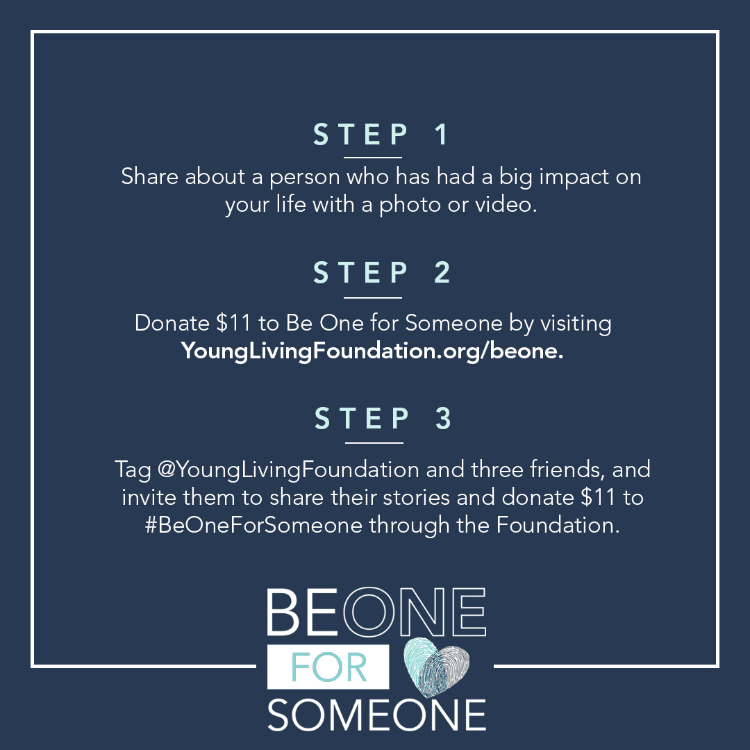 Be One For Someone